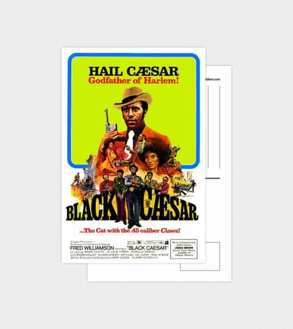 Postal Black Cesar