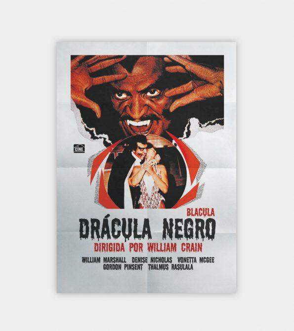 Poster Drácula Negro (Blacula)